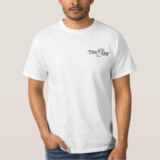 Totalmente camiseta de Todd, punto frío Poleras