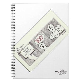 Totalmente cuaderno de Todd, fantasmas de desfalle