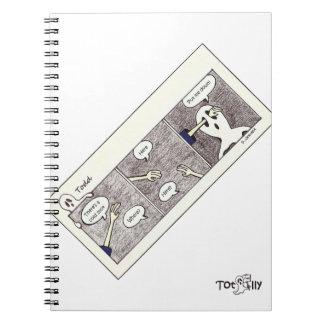 Totalmente cuaderno de Todd, puntos fríos