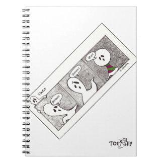 Totalmente cuaderno de Todd, Spandex