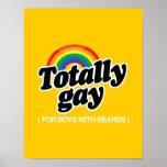 TOTALMENTE GAY PARA LOS MUCHACHOS CON LAS BARBAS - IMPRESIONES