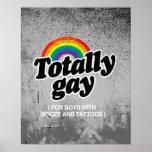 TOTALMENTE GAY PARA LOS MUCHACHOS CON LOS TATUAJES IMPRESIONES