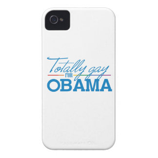 TOTALMENTE GAY PARA OBAMA - .PNG Case-Mate iPhone 4 FUNDAS