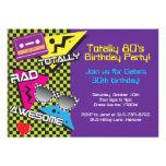 Totalmente invitaciones de la fiesta de cumpleaños