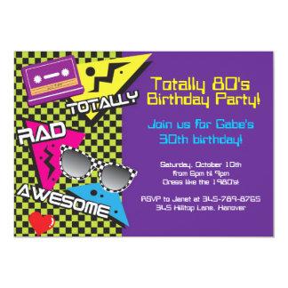 """Totalmente invitaciones de la fiesta de cumpleaños invitación 5"""" x 7"""""""