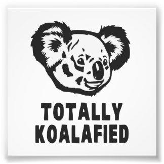 Totalmente koala de Koalafied Arte Fotográfico