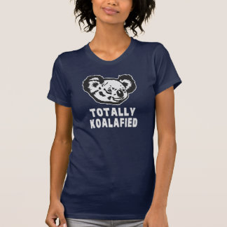 Totalmente koala de Koalafied Camisetas