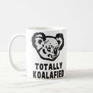 Totalmente koala de Koalafied Taza Básica Blanca
