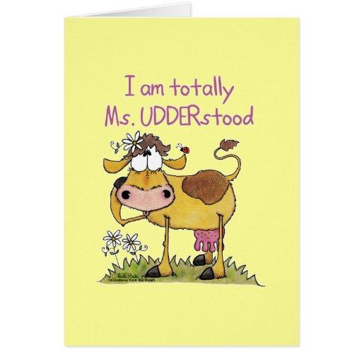 Totalmente ms Udderstood Felicitacion