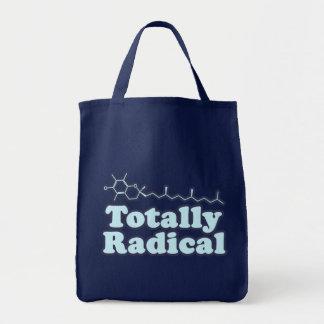 Totalmente radical para los profesores de ciencias bolsas lienzo