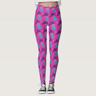 Totalmente triángulos de las rosas fuertes de los leggings