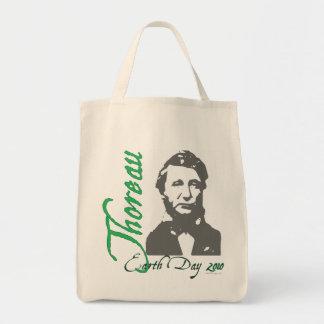 Tote 2010 del Día de la Tierra de Thoreau Bolsa Lienzo