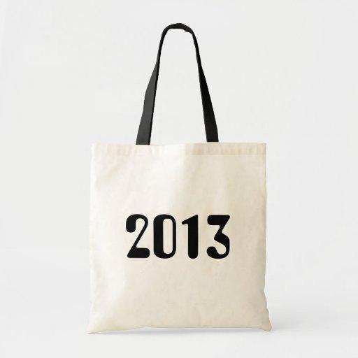 Tote 2013 con la manija negra bolsa