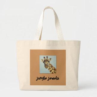Tote A Giraffe Jumbo Tote Bag
