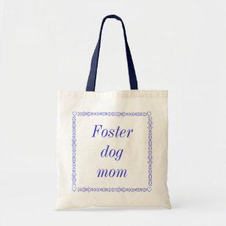 Tote adoptivo de la mamá del perro bolsa tela barata