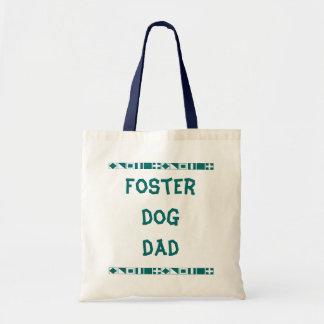 Tote adoptivo del papá del perro bolsa tela barata