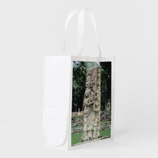 Tote antiguo de Honduras del valle de Copan de las Bolsa Reutilizable
