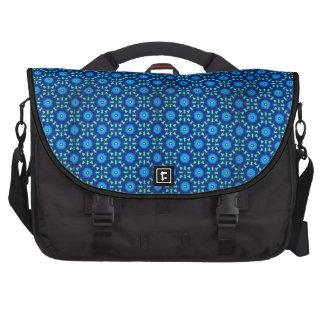 Tote azul y negro hermoso bolsas para portátil