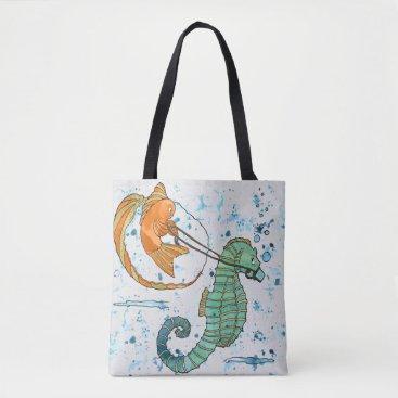 Beach Themed Tote bag