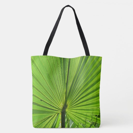 Tote Bag (ao) - Green Palm Frond