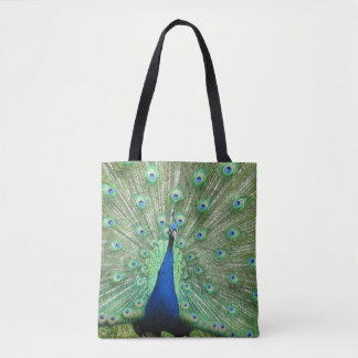 Tote Bag (ao) - Peacock Doubled