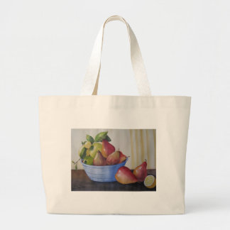 TOTE BAG Apples and Pears Still Life