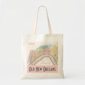 Tote Bag Bags Old New Orleans City Streets LA Map