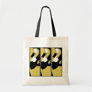 Tote Bag:  Beardsley Illustration- The Yellow Book