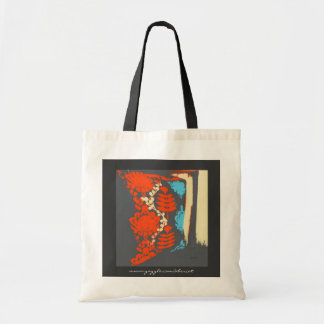 Tote Bag, Budget - Scroll Pillow Contemporary Art