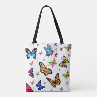 tote bag butterflies