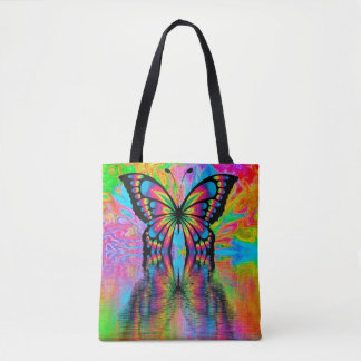 Tote Bag: Butterfly Design