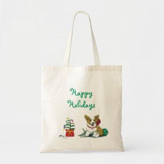 Tote Bag Christmas Corgi Tote