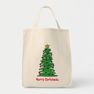 Tote Bag- Christmas Tree