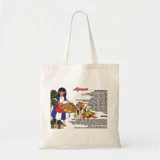 Tote Bag con Receta - Cuban Ajiaco - Espanol
