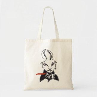 "Tote bag ""Conejita Punky"" Bolsa Tela Barata"