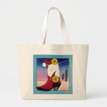 Tote Bag - Cowboy Boot, All Dressed Up