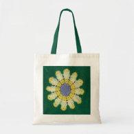 Tote Bag - Crochet Pattern - Daisy