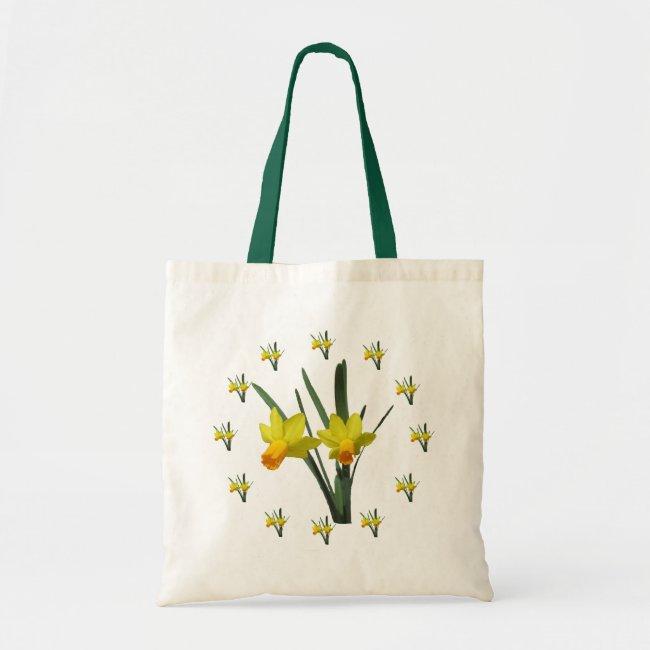 Tote Bag - Daffodil Blossoms