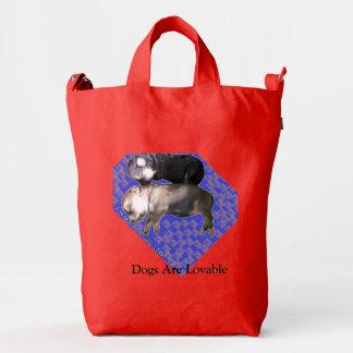 tote bag dogsAGGU Duck Bag, Poppy