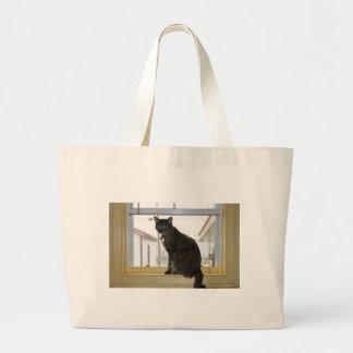 Tote Bag, female calico cat