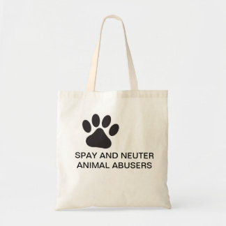 TOTE BAG FOR ANIMAL LOVERS