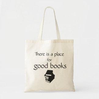 Tote bag for good books