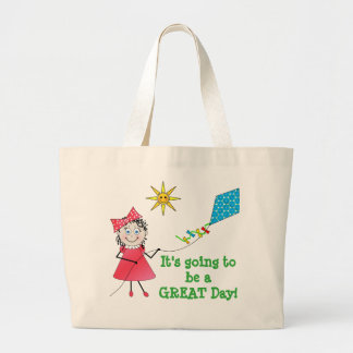 TOTE BAG - GOING TO BE GREAT DAY - KITE FLYING