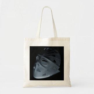 Tote Bag Halloween Trick or Treat Fun Hockey Mask
