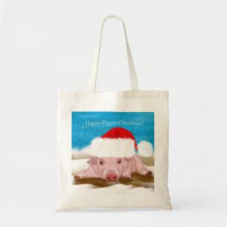Tote Bag Happy Piggin Christmas - Pig