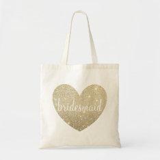 Tote Bag | Heart Fab Bridesmaid - See Description at Zazzle