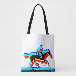 Tote Bag Horse Riders