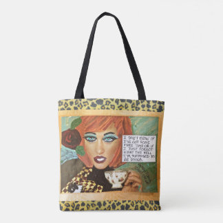 TOTE BAG= I DON'T KNOW IF I'VE GOT SOME FREE TIME