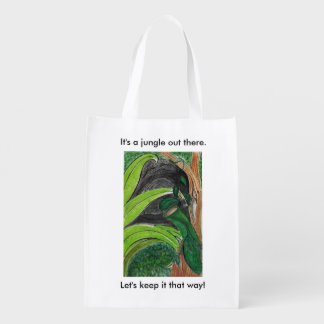 Tote bag - 'It's a jungle out there'.