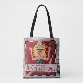 Tote bag- it's your birthday! Party like a rocksta